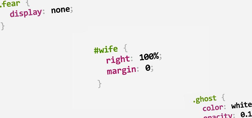 CSS-Wortspiel